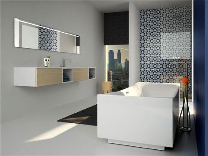 Meubles lave mains robinetteries meuble sdb meuble de salle de bains de grande taille sur - Taille meuble salle de bain ...