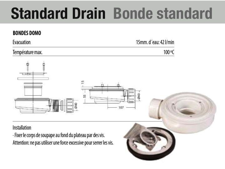 receveurs de douches longueur 200 receveur de douche en r sine sur mesure 200 cm petit. Black Bedroom Furniture Sets. Home Design Ideas