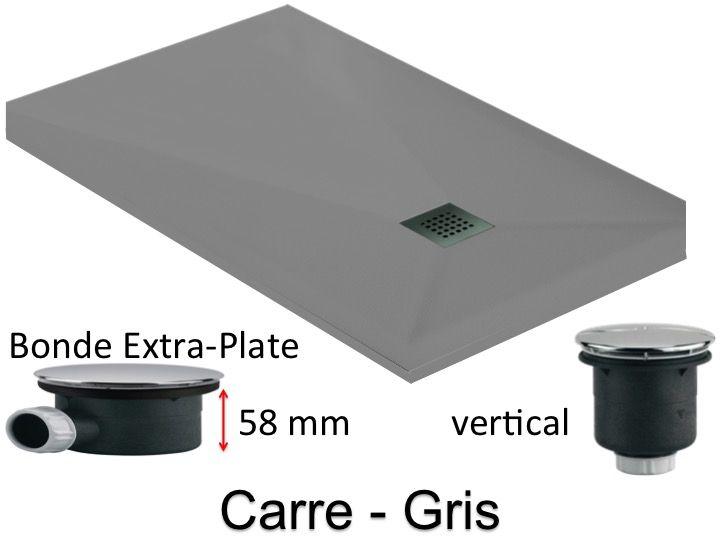receveurs de douches longueur 160 receveur de douche. Black Bedroom Furniture Sets. Home Design Ideas
