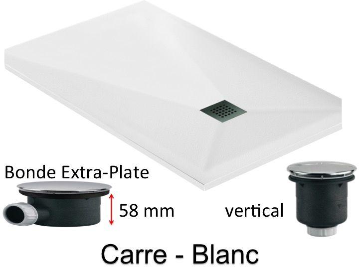 receveurs de douches longueur 200 receveur de douche extra plat 200 cm bonde extra plate 58mm. Black Bedroom Furniture Sets. Home Design Ideas