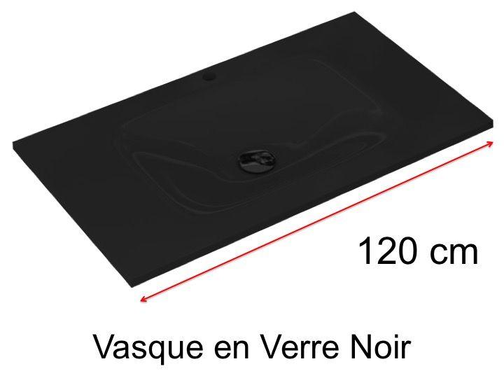 Vasques Verre Vasque En Verre 46 X 120 Pour Meuble De