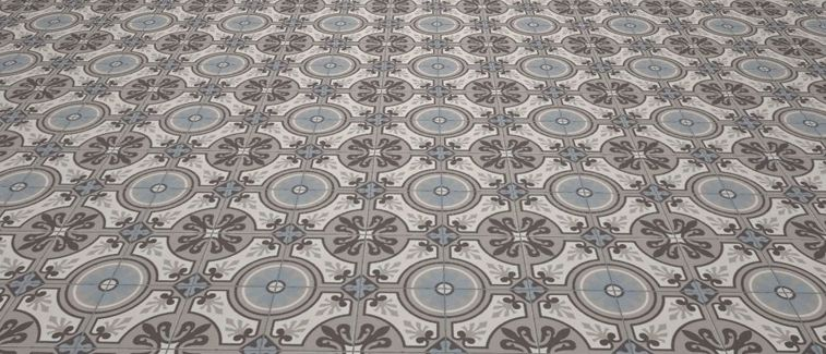 Carrelages mosa ques et galets aspect cx ciment lilou classic 20x20 carrelage de sol - Carreaux de ciment paris ...