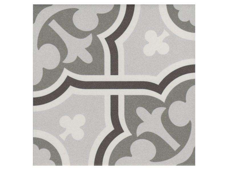 Flow gris 20x20 carrelage de sol aspect carreaux de Carrelage aspect carreaux de ciment