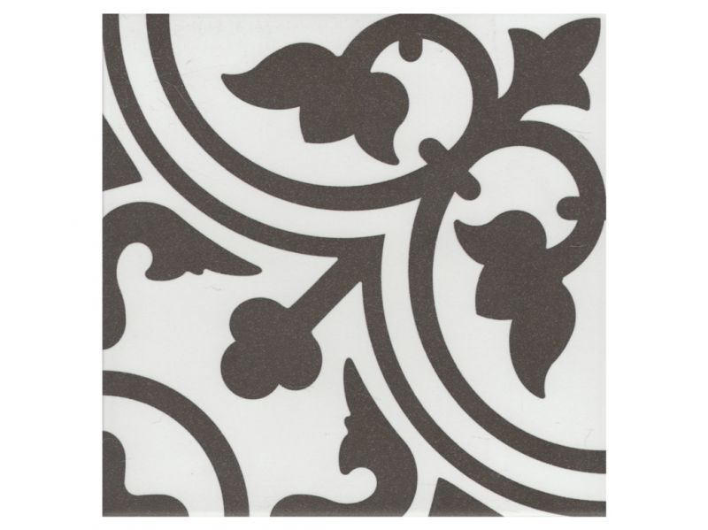 Carrelages mosa ques et galets aspect cx ciment flavie for Carrelage blanc brillant 20x20