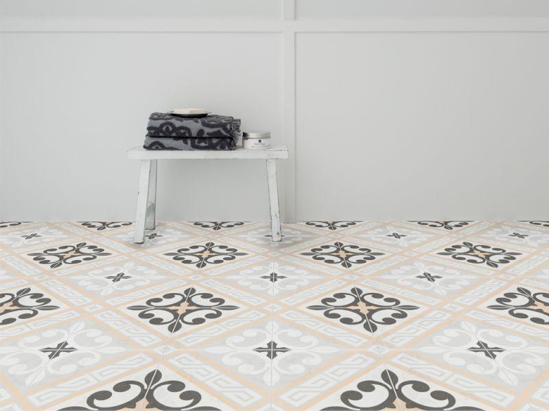 juliette marron 20x20 carrelage de sol aspect carreaux. Black Bedroom Furniture Sets. Home Design Ideas