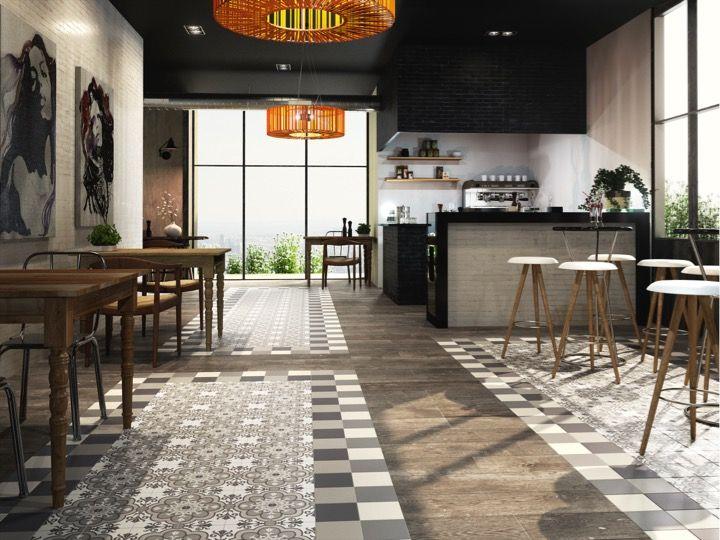 Solano brezo 15x15 carrelage de sol aspect carreaux de Carrelage aspect carreaux de ciment