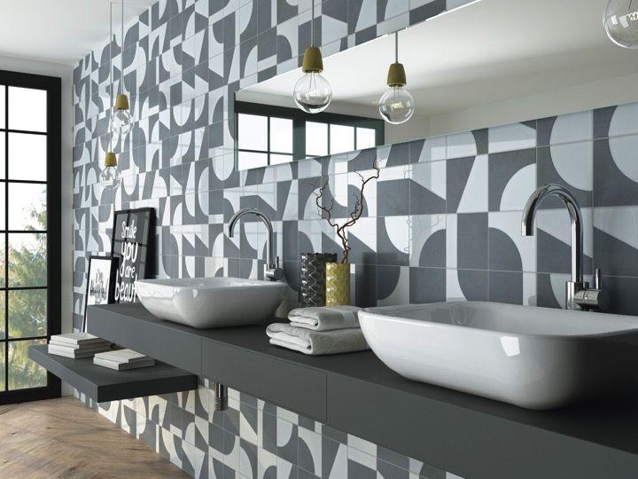 fiorella 15x15 carrelage de sol aspect carreaux de ciment gr s c rame. Black Bedroom Furniture Sets. Home Design Ideas