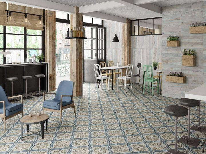 fs nijar 45x45 carrelage de sol aspect carreaux de ciment. Black Bedroom Furniture Sets. Home Design Ideas