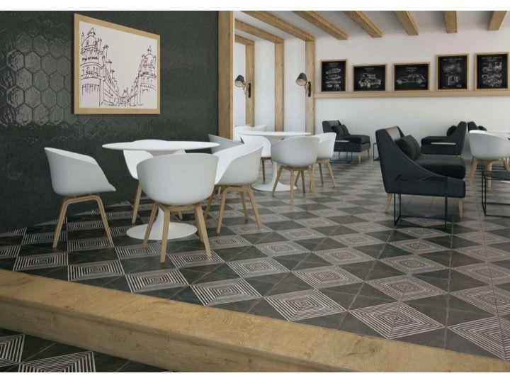 fs rombos n 45x45 carrelage de sol aspect carreaux de. Black Bedroom Furniture Sets. Home Design Ideas