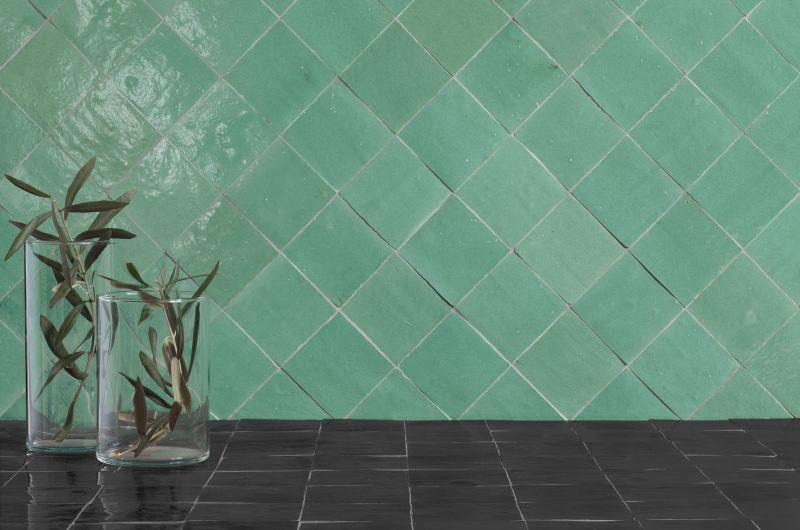 Carrelages Mosaiques Et Galets Oriental Zellige 10x10 Medina Red