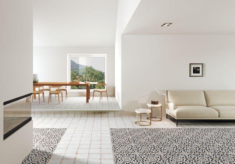 carrelages mosa ques et galets aspect cx ciment lenos. Black Bedroom Furniture Sets. Home Design Ideas
