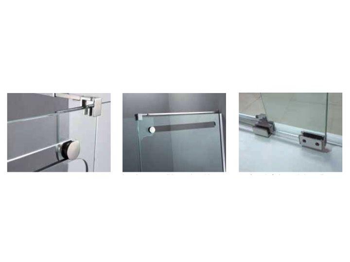 Paroi de douche longueur 115 porte de douche 115 x 200 for Porte de douche fixe