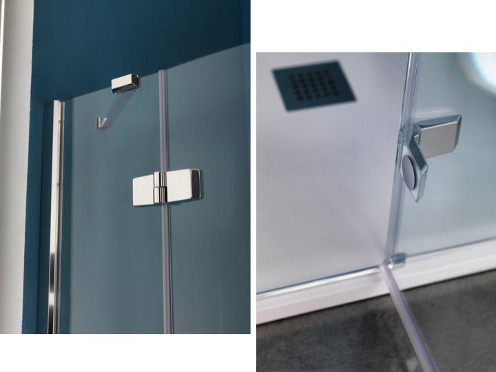 paroi de douche longueur 110 paroi de douche un panneau pivotant 110 x 200 cm grand. Black Bedroom Furniture Sets. Home Design Ideas