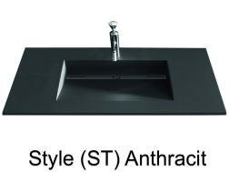 vasques sur mesure 90 cm vasques en r sine sur mesure. Black Bedroom Furniture Sets. Home Design Ideas
