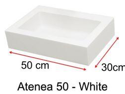 vasques sur mesure 50 cm vasques en r sine sur mesure. Black Bedroom Furniture Sets. Home Design Ideas