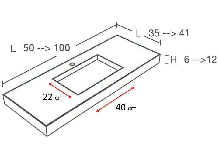 Vasques largeur 50 vasque de salle de bains de tr s for Salle de bain petite taille