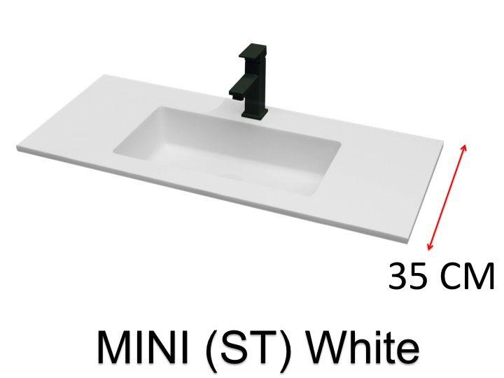 vasques largeur 60 vasque de salle de bains de tr s petite taille 60 x 35 cm atenea mini 35. Black Bedroom Furniture Sets. Home Design Ideas