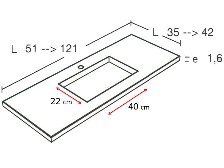 vasques corian type vasque de salle de bains de tr s petite taille 50 x 35 cm hydra mini. Black Bedroom Furniture Sets. Home Design Ideas