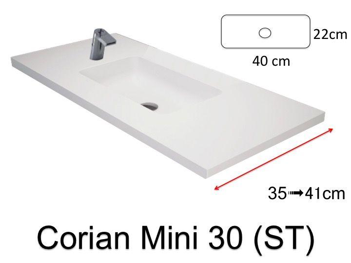 vasque de salle de bains de trs petite taille 50 x 30 cm hydra