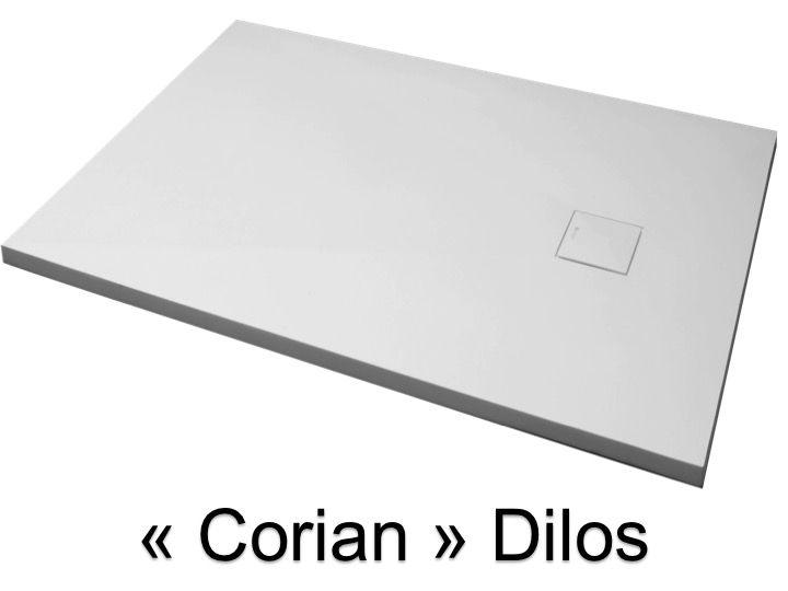 receveurs de douches corian type receveur de douche type corian en r sine min rale solid. Black Bedroom Furniture Sets. Home Design Ideas