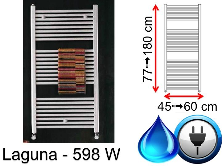 radiateur s che serviettes 600 watt s che serviette de 598 watt mixte de petite taille et. Black Bedroom Furniture Sets. Home Design Ideas