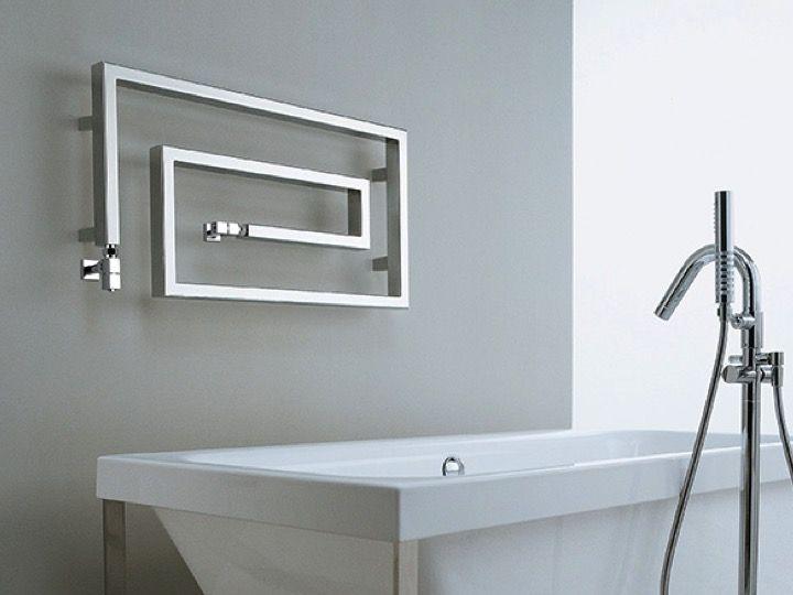 sche serviette design de watt eau chaude snake chrome sirocco - Puissance Seche Serviette Salle De Bain