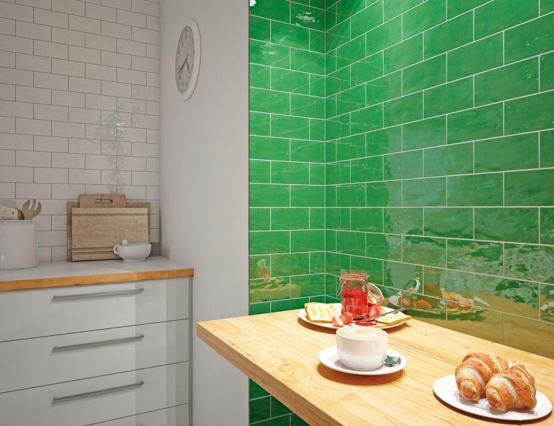 Carrelages Mosaiques Et Galets Cuisine Mural Antic Blanco 7 5 X