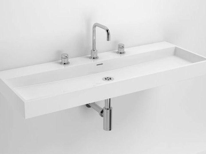 vasques lavabo et vasque lavabo de 110 x 42 cm design. Black Bedroom Furniture Sets. Home Design Ideas