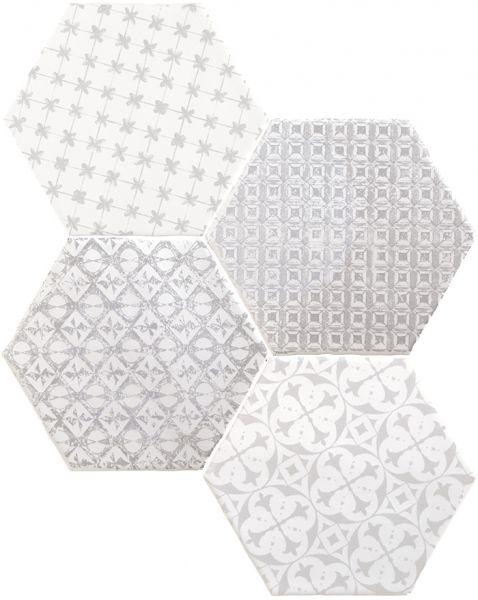 Carrelages Mosaiques Et Galets Oriental Marrakech Mosaic Gris 15