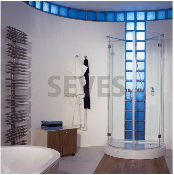 brique de verre d 39 angle courbe pav transparent ondul m tallis e neutro ang o met pegasus. Black Bedroom Furniture Sets. Home Design Ideas