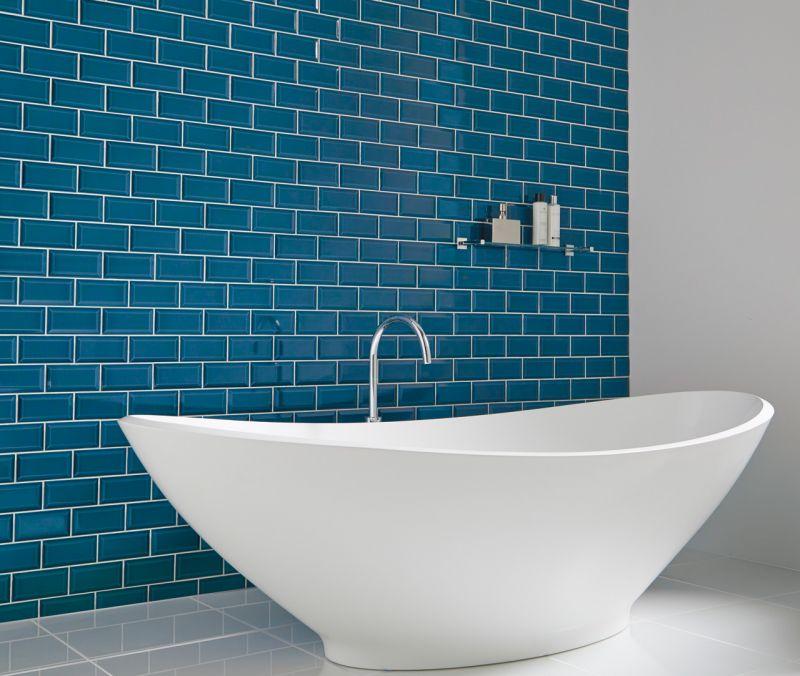 carrelages mosa ques et galets metro metro azul cobalto. Black Bedroom Furniture Sets. Home Design Ideas