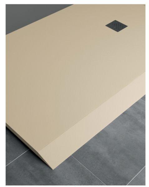 receveurs de douches longueur 160 receveur de douche en r sine sur mesure 160 cm petite. Black Bedroom Furniture Sets. Home Design Ideas