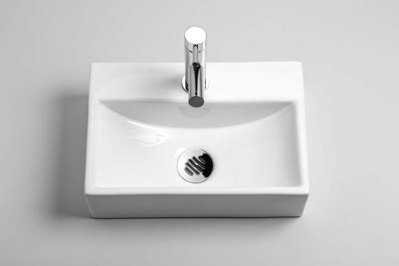 meubles lave mains robinetteries lave mains lave mains en c ramique profondeur 24 cm carre. Black Bedroom Furniture Sets. Home Design Ideas