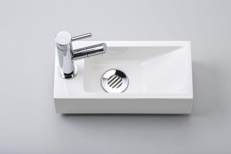 lave mains wc en r sine profondeur 15 cm robinetterie gauche recto 32b mc benesan. Black Bedroom Furniture Sets. Home Design Ideas