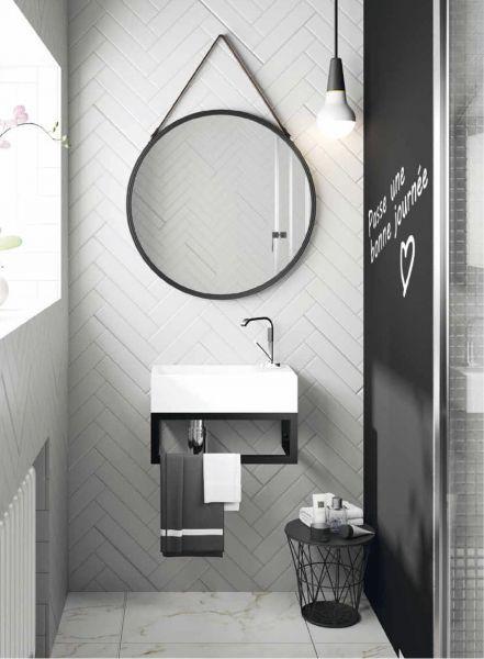 hauteur carrelage toilette good with hauteur carrelage toilette hauteur pose armoire de. Black Bedroom Furniture Sets. Home Design Ideas