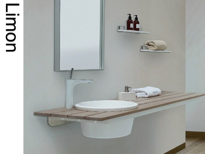 Vasques Corian (Type) - Plan de toilette design en résine Solid ...
