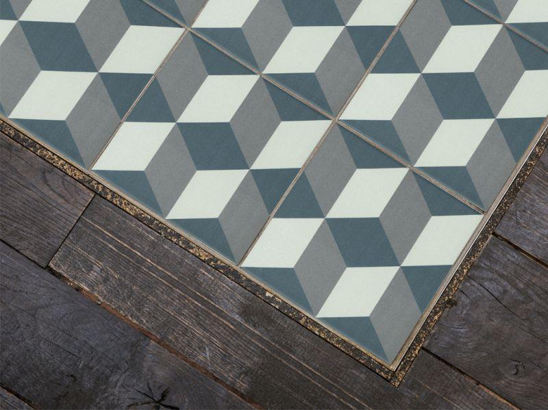 gustave 20x20 carrelage de sol aspect carreaux de ciment. Black Bedroom Furniture Sets. Home Design Ideas