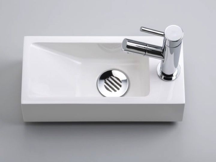 excellent lavemains wc en rsine profondeur cm droite recto b with meuble 15 cm profondeur. Black Bedroom Furniture Sets. Home Design Ideas