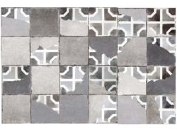 FS BRIATI DECOR 45x45 - Carrelage de sol aspect carreaux de ciment.