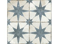 FS STAR BLUE 45x45 - Carrelage de sol aspect carreaux de ciment.