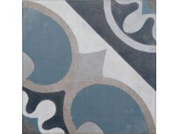 Vintage Decor 04 azul 20x20 - Carrelage, aspect carreaux de ciment Vintage Decus