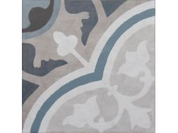Vintage Decor 05 azul 20x20 - Carrelage, aspect carreaux de ciment Vintage Decus