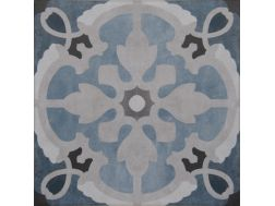 Vintage Decor 08 azul 20x20 - Carrelage, aspect carreaux de ciment Vintage Decus
