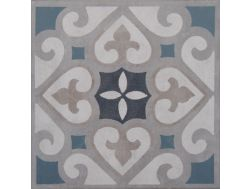 Vintage Decor 09 azul 20x20 - Carrelage, aspect carreaux de ciment Vintage Decus