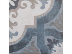 Vintage Decor 07 azul 20x20 - Carrelage, aspect carreaux de ciment Vintage Decus