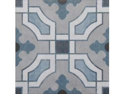 Vintage Decor 10 azul 20x20 - Carrelage, aspect carreaux de ciment Vintage Decus