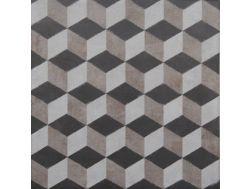 Vintage Decor 01 gris 20x20 - Carrelage, aspect carreaux de ciment Vintage Decus