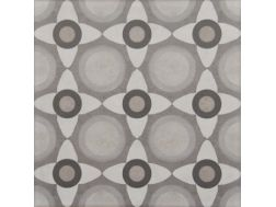 Vintage Decor 02 gris 20x20 - Carrelage, aspect carreaux de ciment Vintage Decus