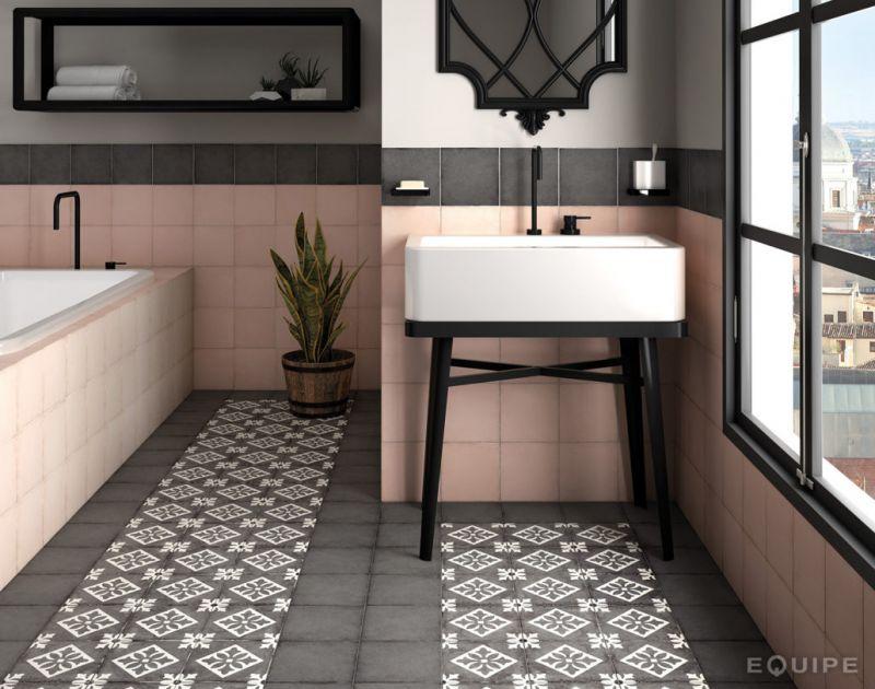 carrelages mosa ques et galets aspect cx ciment capitol grey 20x20 carrelage imitation. Black Bedroom Furniture Sets. Home Design Ideas