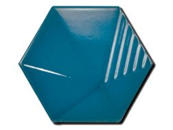 MAGICAL 3D UMBRELLA ELECTRIC BLUE 12x10 - Carrelage mural en relief 3D